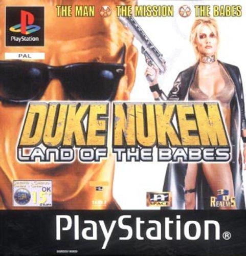 Duke nukem land of the babes - Playstation - PAL