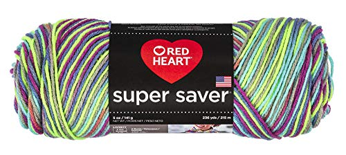 Red Heart E300P.8635 Super Saver Garn, Pooling - Party