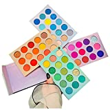 HUDA GIRL Beauty Color Board Eyeshadow Palette 60 Color Eye Shadow Makeup Kit High Pigmented Professional Make up Matte and Shimmer Shades