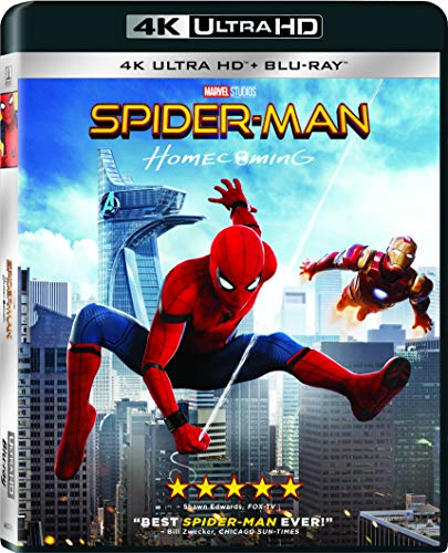 Top spider man blu ray 4k for 2020