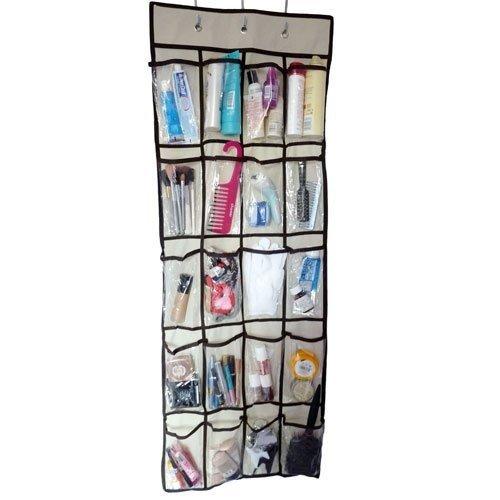 20 Pocket Hanging Door Tidy Organiser Storage Rack