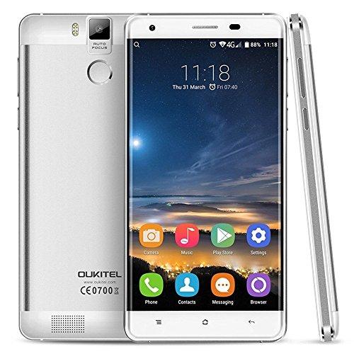 "Original QUKITEL K6000 PRO 5.5"" OGS FHD Android 6.0 MTK6753 Octa Core 4G LTE smartphone 13MP 3gb ram 32gb rom dual sim 6000mah"