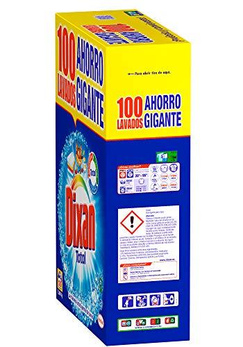 Dixan Detergente Polvo Total – 100 Lavados (5.30 kg)