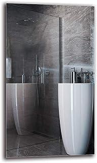 Espejo Standard - Espejo sin Marco - Dimensiones del Espejo 40x70 cm - Espejo de baño - Espejo de Pared - Baño - Sala de Estar - Cocina - Hall - M1ST-01-40x70 - ARTTOR