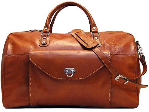 b7997e2004 Floto Monteverde Leather Duffle Bag