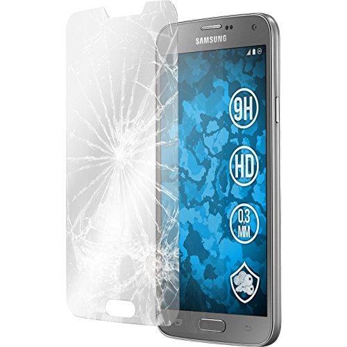 PhoneNatic 2X Panzerglas Folie für Samsung Galaxy S5 Neo klar