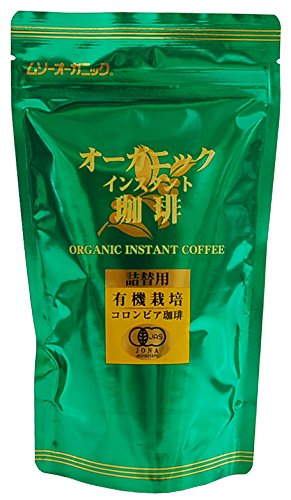 むそう商事 ムソーオーガニック オーガニックインスタントコーヒー 詰替 粉 85g [1222]