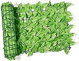 Malla De Ocultacion Jardin Ocultacion Jardin Setos artificiales decorativos de jardín, valla de hojas de hiedra sintética, paneles de cubierta de pantalla de privacidad, pantalla de valla de privaci