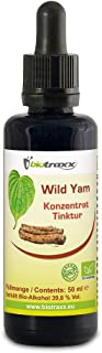 Biotraxx 100% Natural Wild Yam Herbal Concentrate Tincture 50ml. Made in Germany.