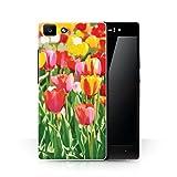 Stuff4 Hülle/Hülle für Oppo R5 / Hübsche Tulpe Blumen Muster/Schöne Weltkunst Kollektion