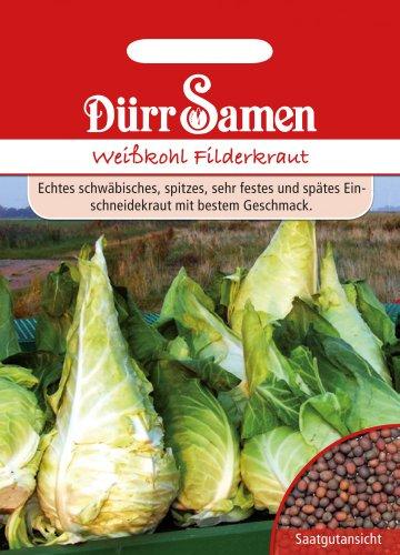 Dürr Samen 0003 Weißkohl Filderkraut (Weißkohlsamen)