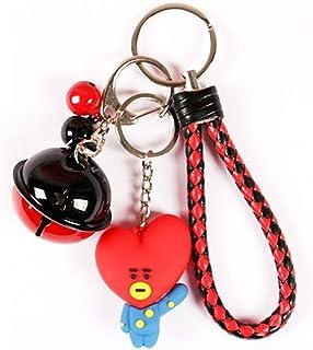 Bt21 llavero BTS Bangtan para niños llavero llavero regalo caliente para A.R.M.Y