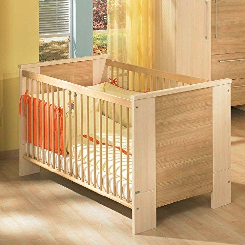 Paidi 1139146 Kinderbett Bruno mit Airwell Comfort Rost, 70 x 140 cm, softbirne/kirsche natur
