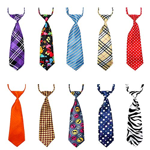 Dog Ties for Large Dogs, Segarty Pet Neck Tie, with Adjustable Collar, Bulk Bow Ties Bowties Necktie Grooming Accessories for Girl Boy Dog Valentines Holiday Birthday Wedding Cosplay Costumes