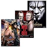 WWE 2015 Event Poster Bundle - 1X SummerSlam, 1X...