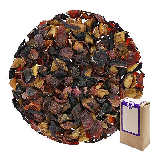 N° 1423: Tè alla frutta in foglie 'Mela Crema Brittle' - 1 kg - GAIWAN® GERMANY - tè in foglie, rosa canina, mela, ibisco, 1000 g
