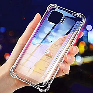 Oppo A73 Case Cover Back Air Cushion Soft Silicone Shockproof Ultra Slim Premium Material Anti-Scratch Protective Bumper S...
