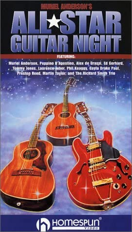 Cheap New mail order super special price Muriel Anderson's All Star Concert VHS Guitar Night