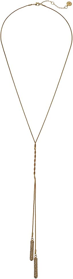 "Vince Camuto 28"" Twisted Y-Necklace"