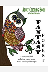 Adult Coloring Book: Fantasy Forest: Volume 2 Paperback