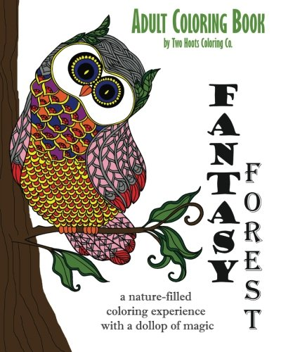 D4nok Free Download Adult Coloring Book Fantasy Forest Adult