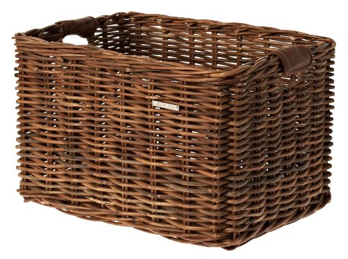 Basil Fahrradkorb Dorset M, Brown, 35 x 24 x 24 cm