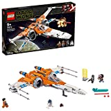 LEGO 75273 Star Wars CazaAla-XdePoeDameron Set de Construcción de Nave Espacial con 3 Mini Figuras y R2-D2