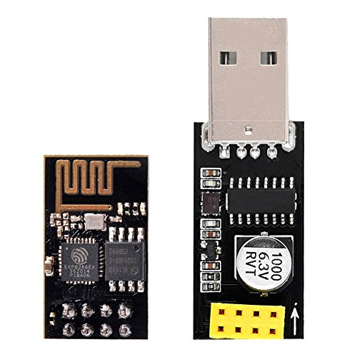 Amazon.com - ESP8266 ESP-01 USB Serial Programmer with CH340 (with ESP-01 Board)