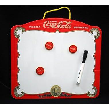 Retro Coca-Cola Galvanized Tin Box (Tin, 6x6x3.25in)
