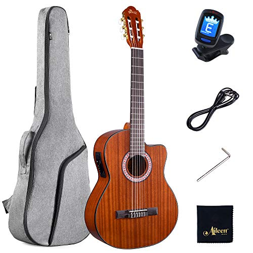bon comparatif Winzz 4/4 Classic E-String Set, guitare acoustique et housse de guitare,… un avis de 2021