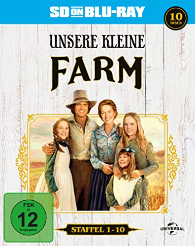 Unsere kleine Farm - Gesamtbox - SD on Blu-ray (exklusiv bei Amazon.de) [Alemania] [Blu-ray]