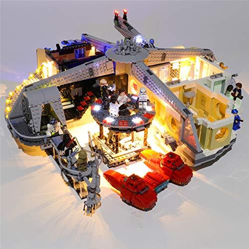 HLEZ Conjunto de Luces Lluminación para Traición en Cloud City Modelo de Bloques de Construcción, Kit de luz LED Compatible con Lego 75222 (Modelo Lego no Incluido)
