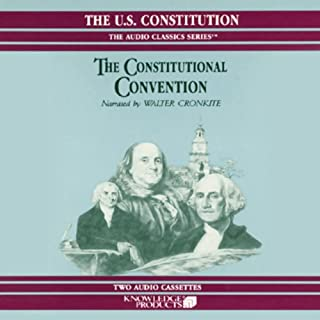 The Constitutional Convention audiobook cover art