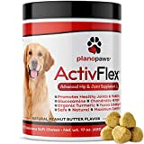 ActivFlex - Glucosamine for Dogs Hip and Joint Supplement - Safe Joint Support for Dogs - Natural Dog Joint Supplement with Glucosamine Chondroitin MSM Turmeric - 120 Joint Care Chews for Dogs