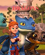 Dragons Rescue Riders: Notebook/Journal |7.5 x 9.25| Nifty Graph Paper Workbook | For Students, Teens, Kids, For School, College, Home, For Diary, Writing Notes
