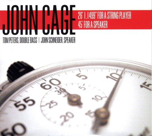 John Cage: 26 1 1499' for a String Player with 45'
