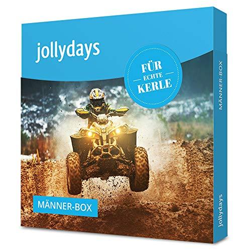 Jollydays Männer-Box   Gutschein für eines von über 400 Erlebnissen   Erlebnis-Geschenkbox   Geschenk für wahre Helden