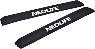 Neolife Car Roof Rack Pads for Surfboard Kayak SUP Snowboard Racks 28inch Long Large Aero Bars [Pair]