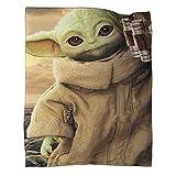 Manta ultra suave y cálida para el póster de CampingStar Wars El bebé...