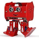 Elegoo Penguin Bot Biped Robot Kit per Progetto Arduino con Tutorial di Montaggio, Kit STEM per Hobbisti STEM Giocattoli per Bambini e Adulti, Versione Rosso V2.0