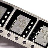 Optoacoplador 6N138, SMD, optoaislador SOP8, acoplamiento optoelectrónico (5 piezas)