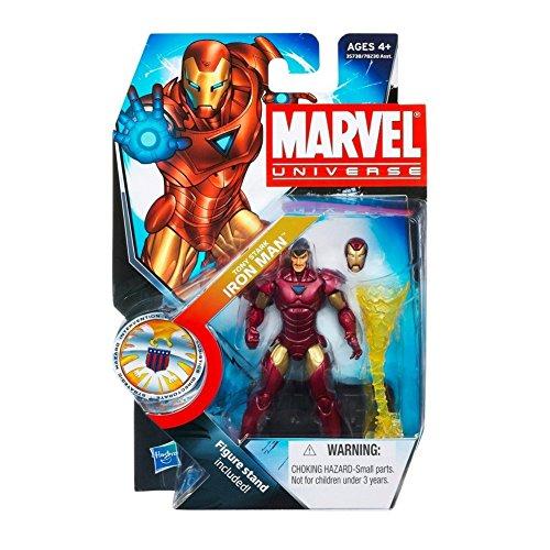 Hasbro Marvel Universe Series 16 Tony Stark Iron Man Action Figure #22