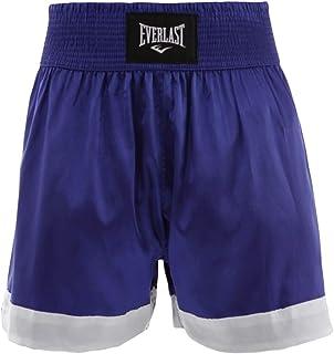 Shorts Everlast Muay Thai Basic - Azul-Branco