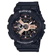 [カシオ] 腕時計 ベビージー BABY-G BA-110RG-1AJF ブラック