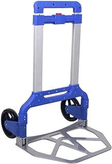 GXYAWPJ 国内トロリーのためのアルミ合金+ PP材は、160キロを負担し、ランダムカラー1.5メートルのロープ(48.5x75cm)を与えることができます (Color : Blue)