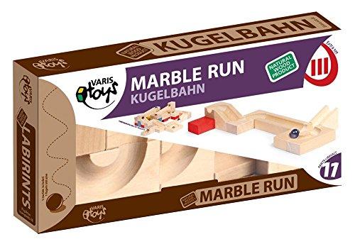 VARIS MR-11 Toys Marble Run Extra Third 11-teiliges Bauset, Mehrfarbig, Einheitsgröße