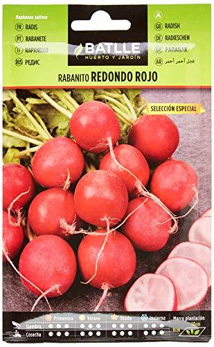 Semillas Hortícolas - Rabanito redondo rojo sel. Especial - Batlle