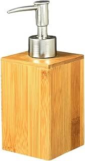 Wxlyy Set de escobillas de ba/ño de bamb/ú de pie con Base de ba/ño