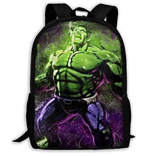 Hulk School Backpack Multi-Function Backpack Boys Girls Bookbag Laptop Backpack