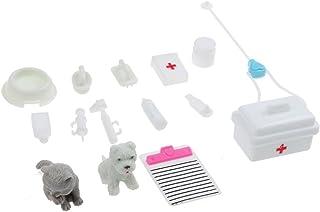 VANKER Accesorios De Muñeca Kit Médico Juguete Mascotas